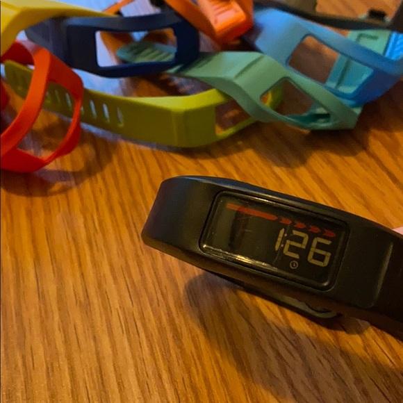 Garmen-vivofit fitness watch & 10 watch bands